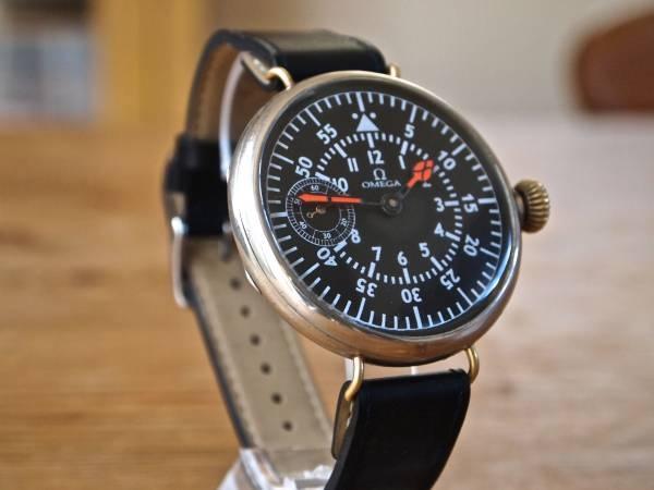 時計 アンティークオメガOMEGA 1928 Pilot 高級 iwcrolex ¥63500円 〆03月12日