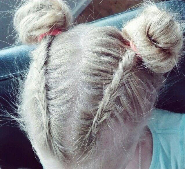 #fishtailbraid #buns #topknots #braids #dutchfishtailbraid #hairstyle #girlshairstyle