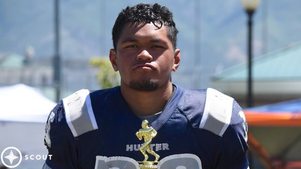 Hunter High School Defensive Lineman Lorenzo Fauatea Will Officially Visit BYU