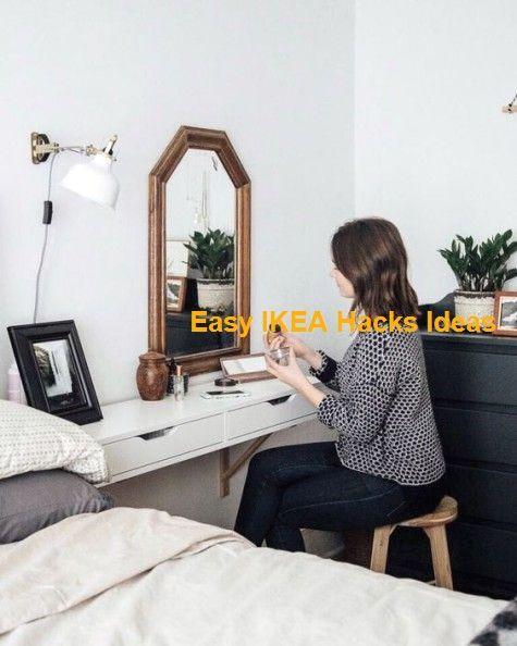 44 Genius IKEA Bedroom Hacks You'll Love