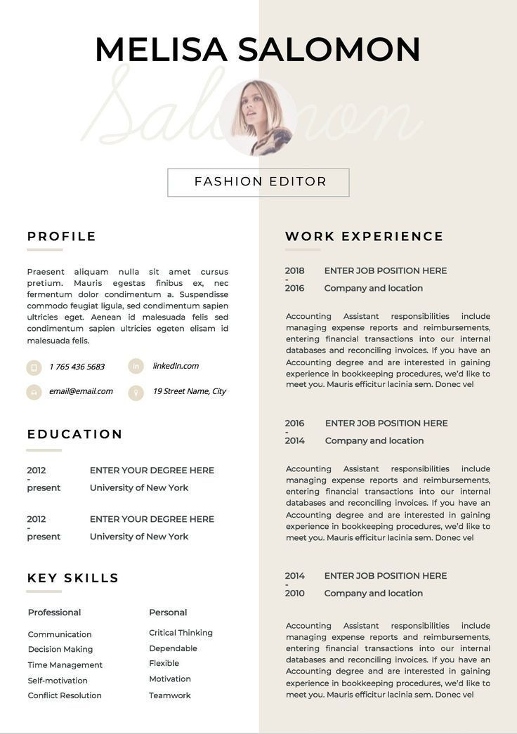 Resume Template Cv Template Resume Cv Design Teacher Resume Cv Instant Download Resume Cv Cv Disenador Plantilla De Curriculum Creative Cv Template