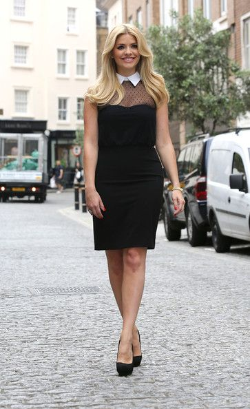 Holly Willoughby..I love her! So genuine.