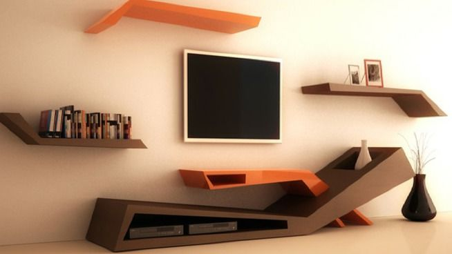 Tv unit modern tik_art - 3D Warehouse More                                                                                                                                                                                 More