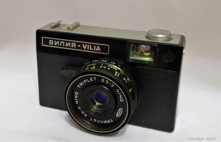 Vilia (Belomo Minsk) - 35mm film, plastic, viewfinder camera (c1974)