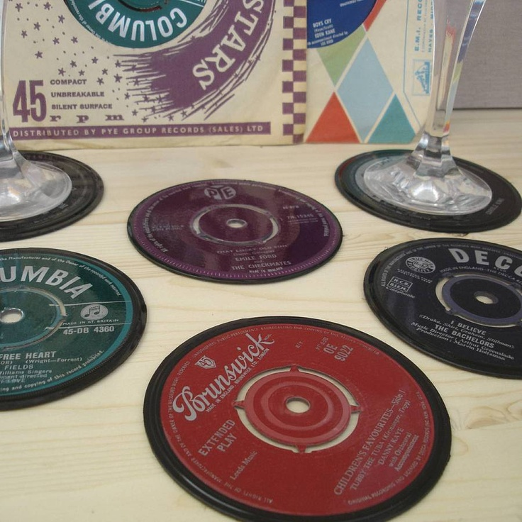 69 best crafts with old albums images on pinterest vinyl for Crafts with old records
