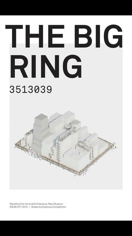 """THE BIG RING"" Proposal for ""IDEAS CITY 2025  João Torres | Maria Inês | Claudia Sanchez | Benjamín Alanis"