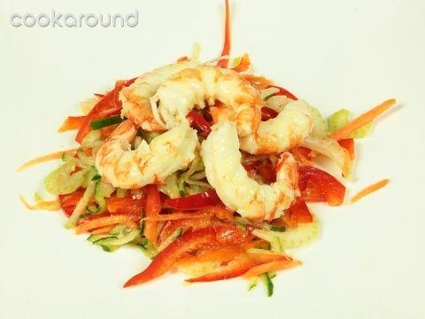 Gamberoni e verdure: Ricette di Cookaround   Cookaround