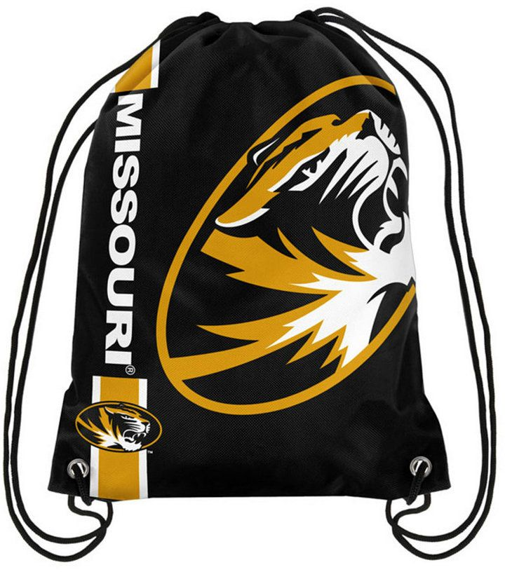 Forever Collectibles Missouri Tigers Big Logo Drawstring Bag