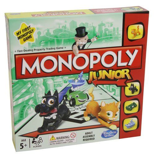 Best deals on amazon for Monopoly Junior Board Game