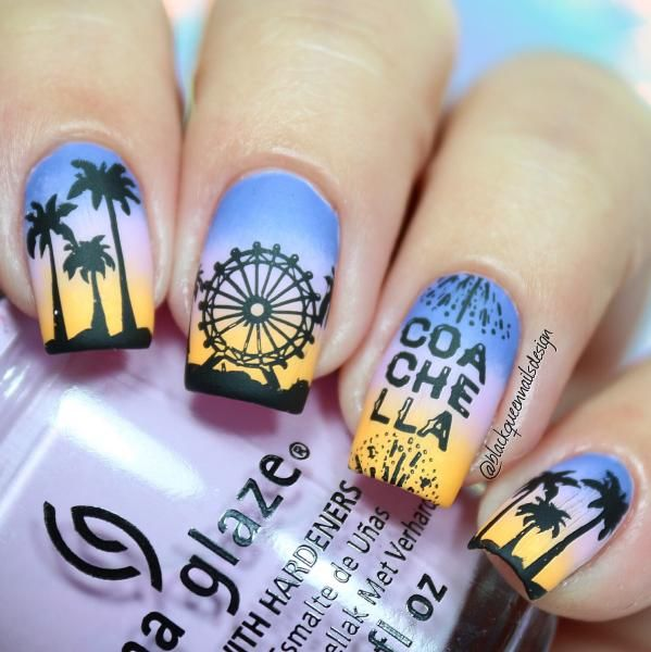 Coachella Nail Art