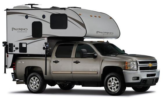 Palomino HS-650, a hard side non-slide truck camper targeting half-ton short bed trucks; http://www.truckcampermagazine.com/news/tcm-exclusive-2016-palomino-hs-650/