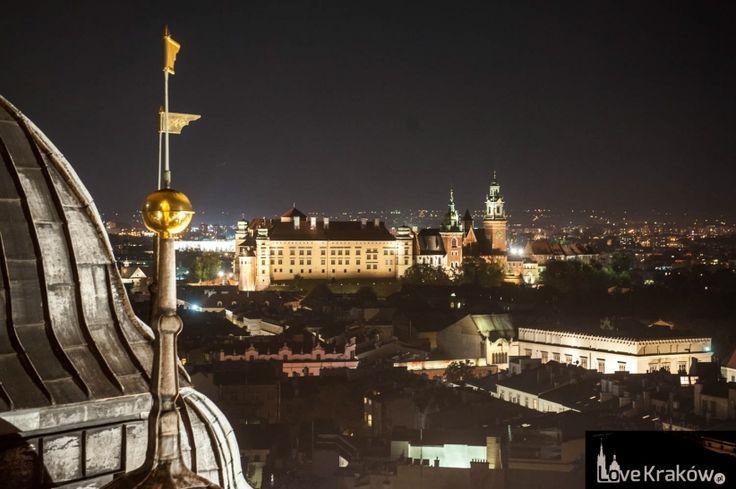 Nocą. Love Kraków