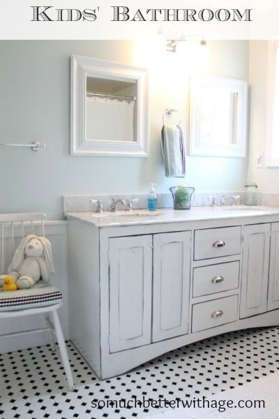 Kids Bathroom - Before & After