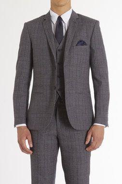 Slim Big Plaid Ticket Pkt Blazer - Paisley & Gray - Coats + Jackets : JackThreads
