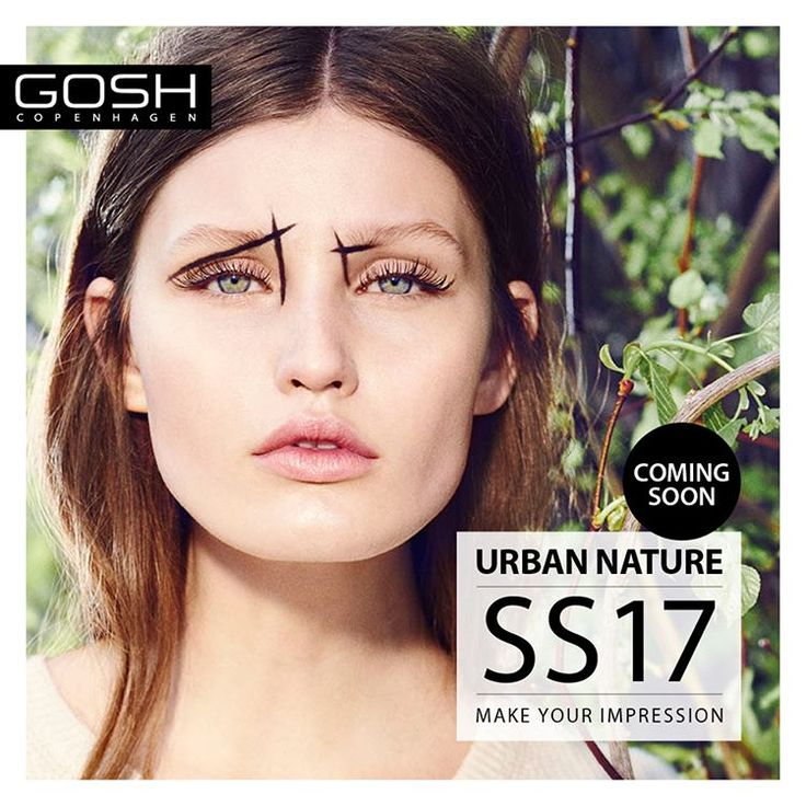 New collection coming up - who's ready? #GOSHCOPENHAGEN #BEAUTIFULYOU #URBANNATURE #MAKEYOURIMPRESSION #SS17