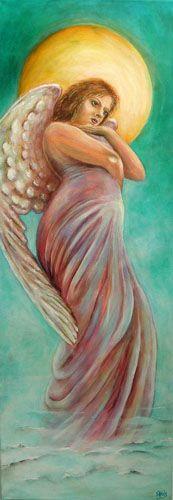 Engel der Wandlung Engelbild - auch als Kunstdruck