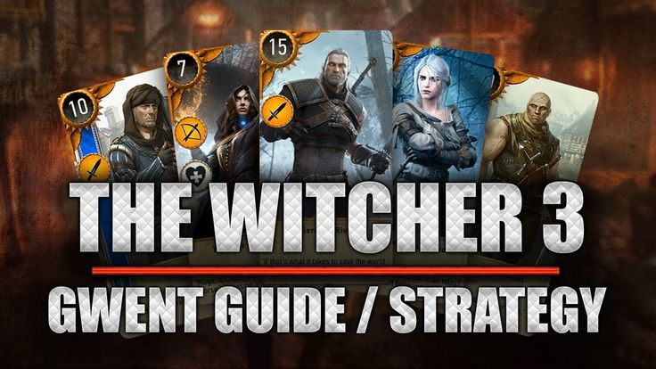 THE WITCHER 3 [Gameplay] Gwent / Gwint Guide Strategy ★ Deutsch   Highsc...