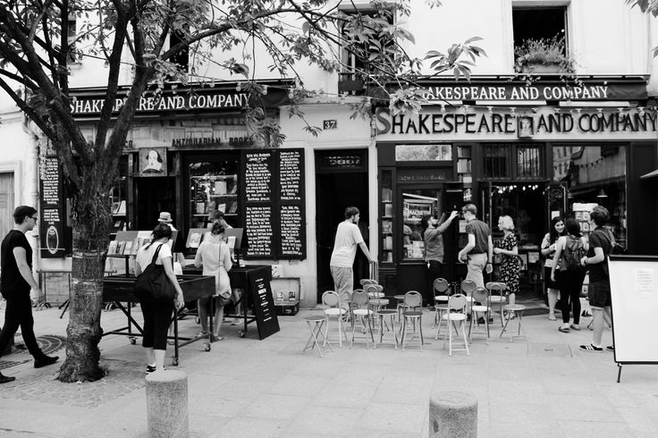 Shakespeare and Company bookshop and more :-)