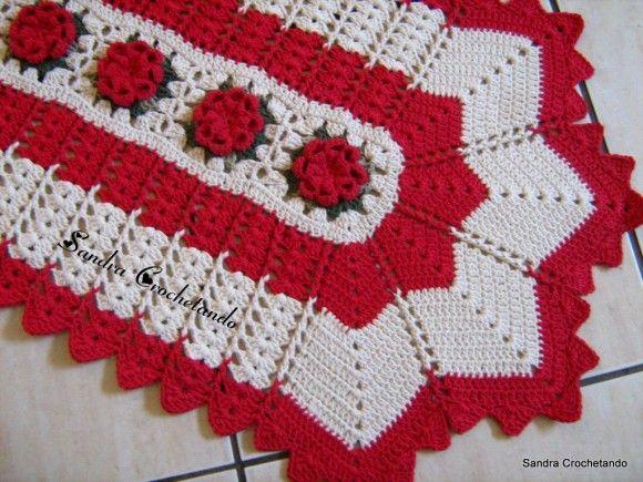 Tapetes de Barbante Como Fazer   tapetes em barbantes61 580x435