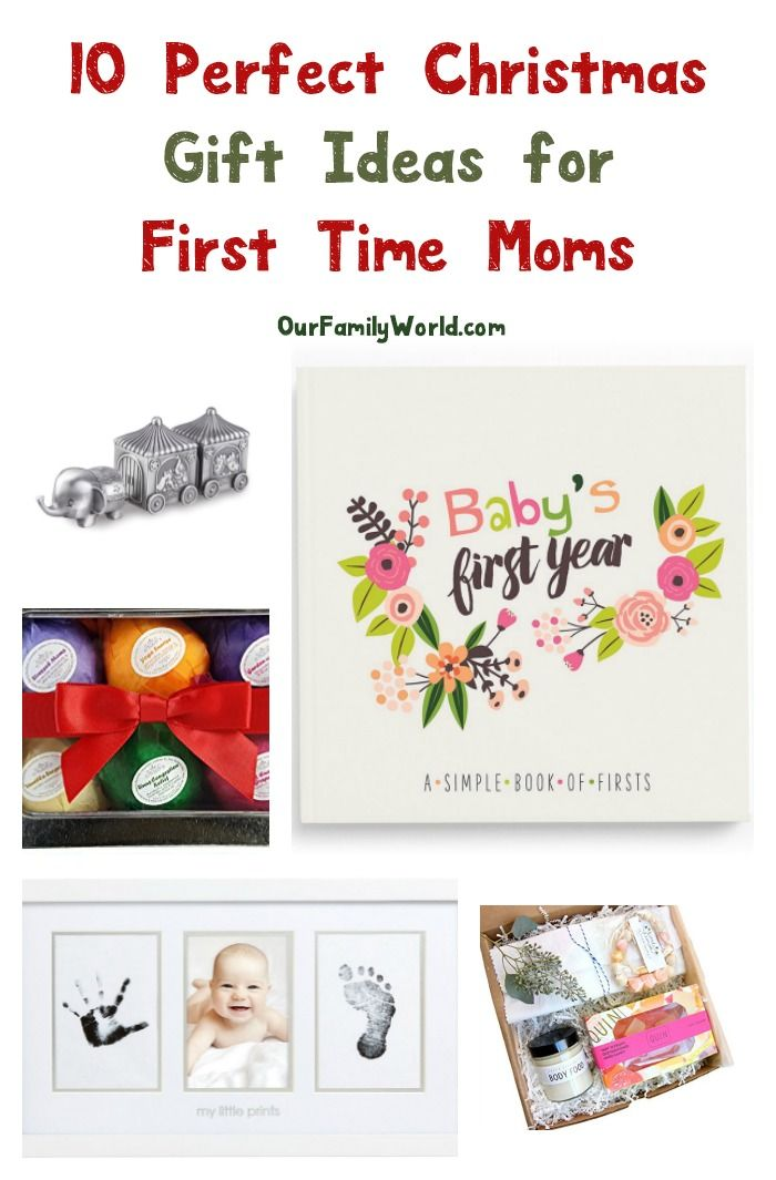 How precious are these #Christmas gift ideas for first time moms? They're  such a great way to honor that brand new mama in your life - 10 Perfect Christmas Gift Ideas For First Time Moms Gift Ideas