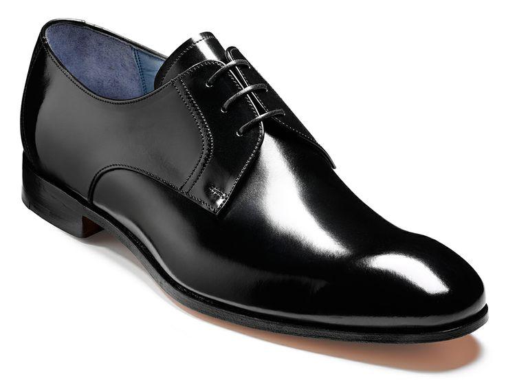 Barker Rutherford mens hi-shine derby shoe http://www.robinsonsshoes.com/barker-rutherford.html