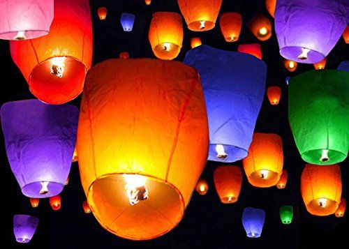 TMS® 50 Mix Colors Chinese Paper Sky Flying Wishing Lantern Lamp Candle Party Wedding Wish TMS http://www.amazon.com/dp/B00LE030WU/ref=cm_sw_r_pi_dp_W3grvb1CZB6R1