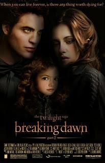 Twilight Breaking Dawn Part 2 Movie Poster