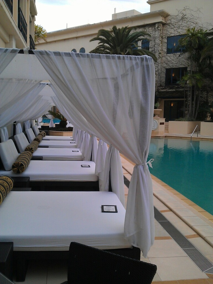 Palazzo Versace Gold Coast poolside