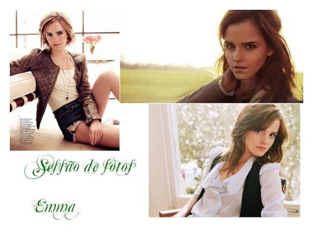 """Sessão de fotos Emma"" by bportelas ❤ liked on Polyvore featuring Emma Watson"