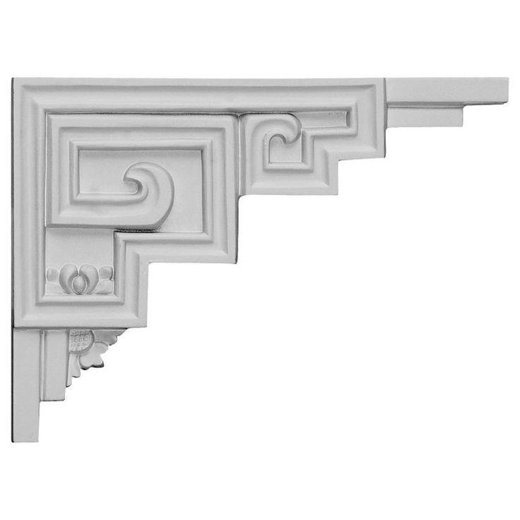 Decorative Ceiling Tiles, Inc. Store - Austin - Urethane Stair Bracket Right -