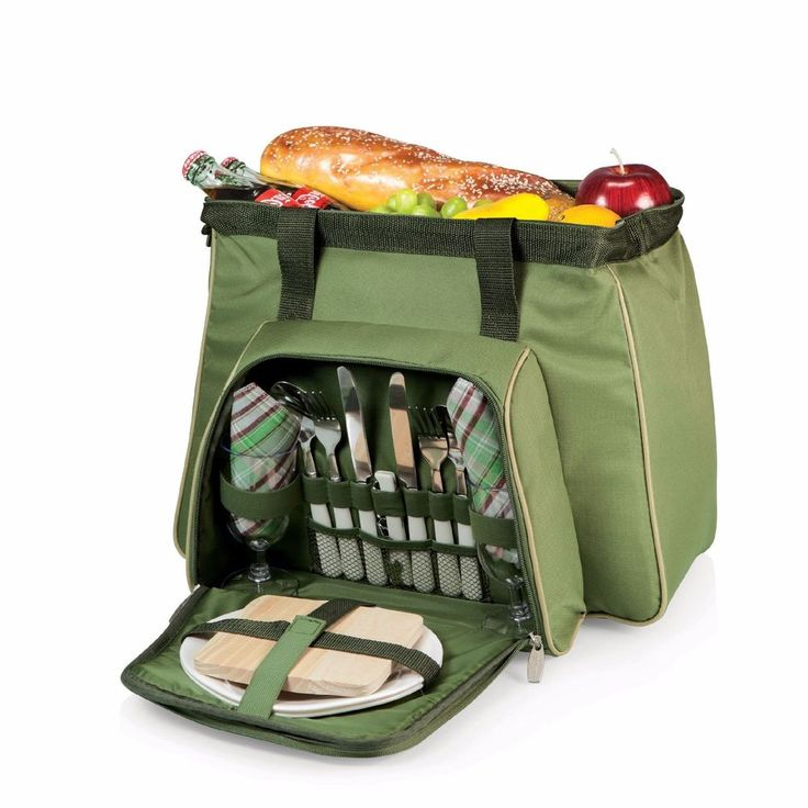 Cheap Picnic Baskets Romantic Simple For 2 Beach Traditional Insulated Cooler   #PicnicTime