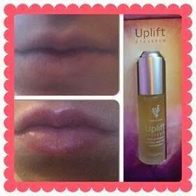 younique uplift eye serum for lips