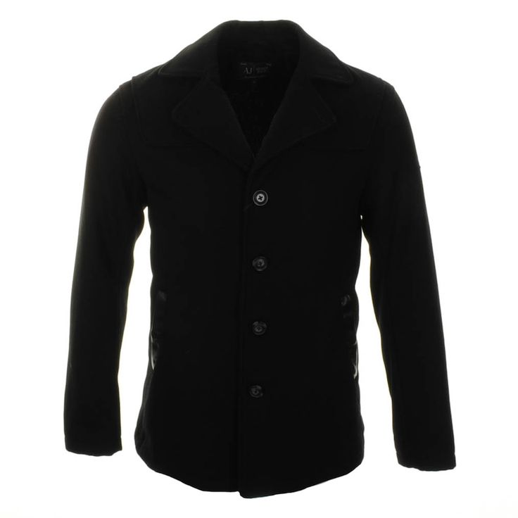 Armani Jeans > Armani Jeans Jacket Black > Emporio Armani Jackets Armani Jeans coats Armani Mens Designer Clothing @ Mainline Menswear Stockists Of Armani, Hugo Boss, Diesel, G Star, Evisu, Stone Island and many more Mens Designer Clothes Online UK