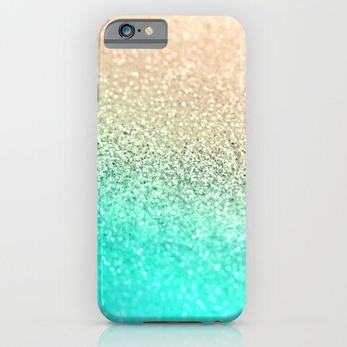 GOLD AQUA iPhone & iPod Case by Monika Strigel | Society6