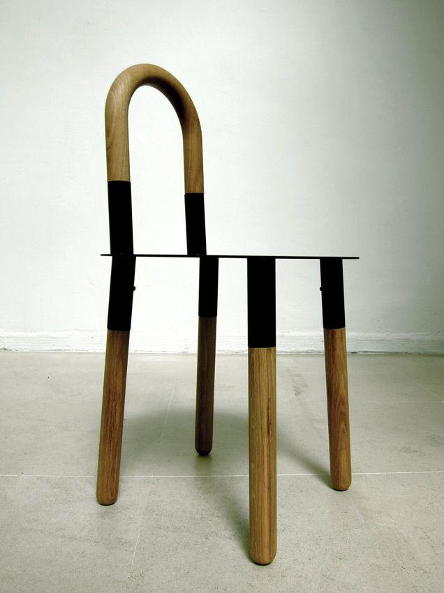 Silla twist 2 #Diseño Ricardo Blanco y Cristián Mohaded