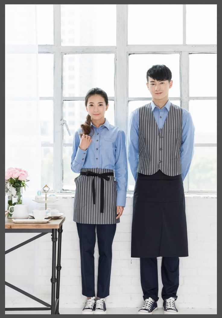 Aliexpress.com : Buy Coffee shop service work clothes long sleeve shirts women dining Cafe hotel server uniforms bar waiter work wear free shipping from Reliable shirt organizer suppliers on Yuxuan Fashion Store | Alibaba Group