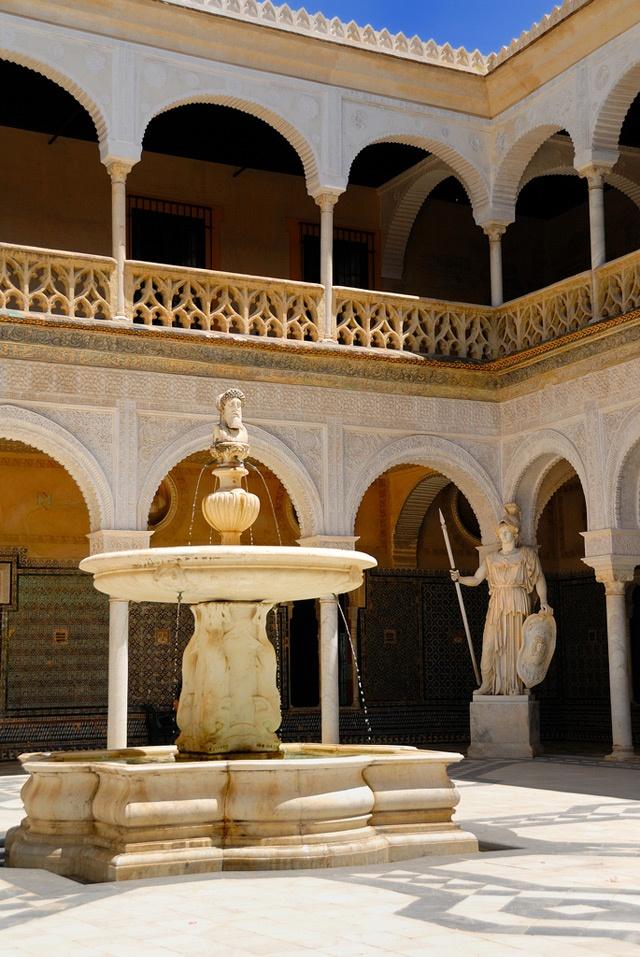 Pilatos Palace in Seville