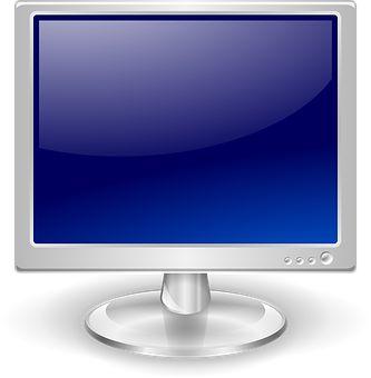監視, フラット スクリーン, 画面, ディスプレイ, デスクトップ