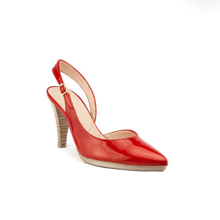 Hispanitas Kaffir Red Sling-back from ELLA Shoes Vancouver | Womens Leather Boots Shoes Online