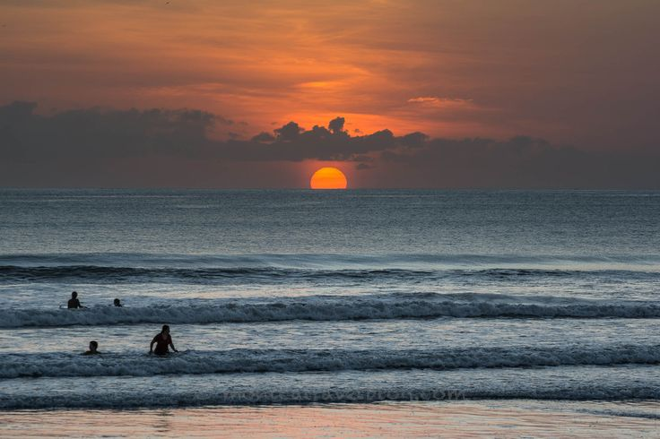 Sunset a Bali