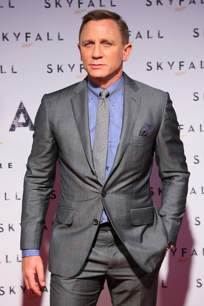 Daniel Craig Debuts Skyfall in Italy With a Bond Girl by His Side