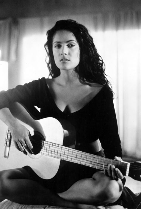 Salma Hayek, from veracruz and born on the same day as me...DUH!! im gonna love her
