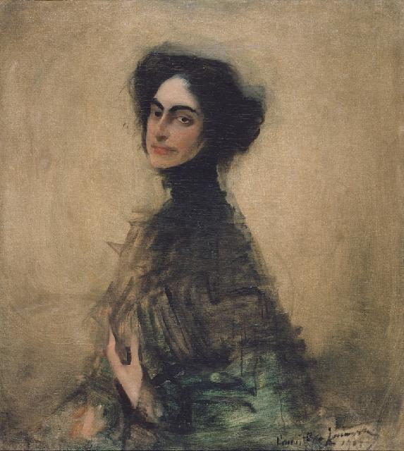 Portret pani Dobkin, Konrad Krzyżanowski