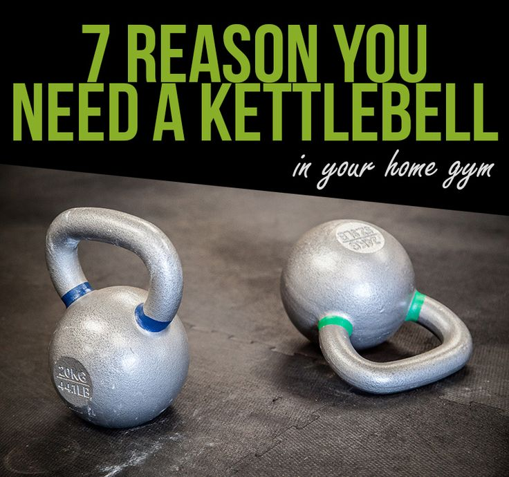 7 reasons you need a Kettlebell in your home gym.
