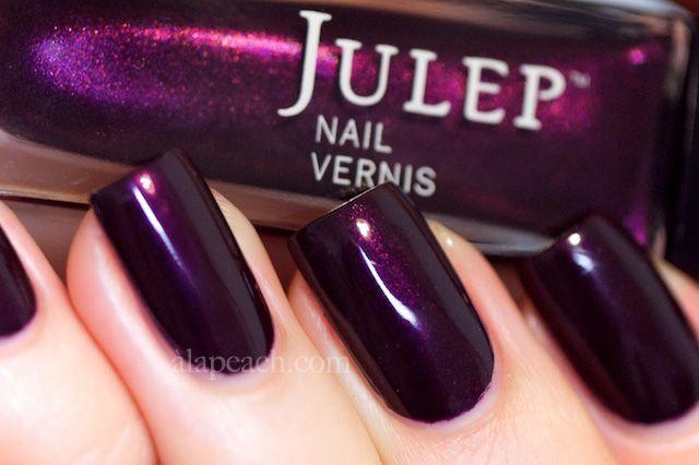 Julep Trina Nail Vernis Polish Swatch Direct Light