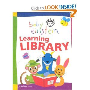 Baby Einstein Learning Library; 12 books, including: Lets Explore; With baby, Nature, Rhymes, Art, Languages, Poetry, Colors, Shapes, Numbers, Animals, ABC's of Art A-M, ABC's of Art N-Z. by Walt Disney Company. $0.12. Publisher: Disney Books; 1ST edition (January 1, 1900). 24 pages. Box set includes twelve 24-page POB storybooks in a slipcase. Custom pub for BTMS.                                                         Show more                               Show less