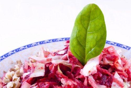 Капустный салат с тыквой