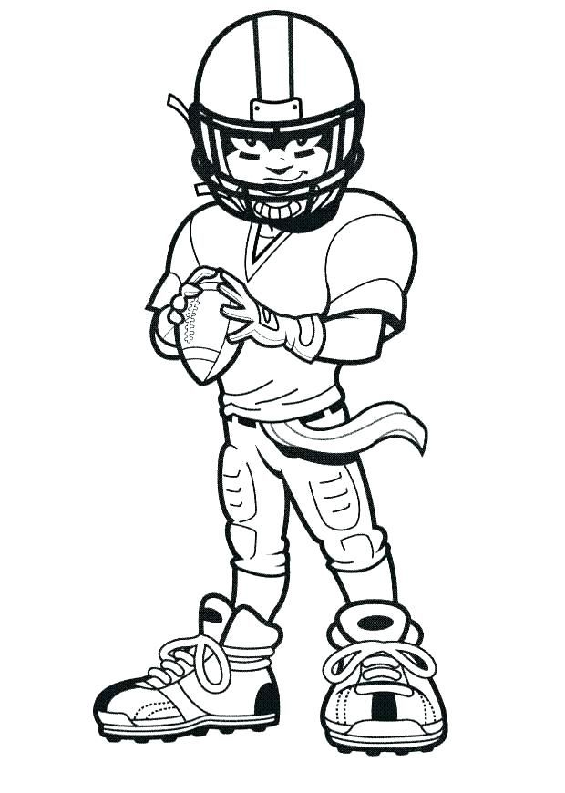 Printable Football Coloring Pages Sports Coloring Pages
