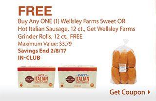 Score FREE 12 ct. Wellsley Farms Grinder Rolls at BJ's - http://www.mybjswholesale.com/2017/01/score-free-12-ct-wellsley-farms-grinder-rolls-bjs.html/