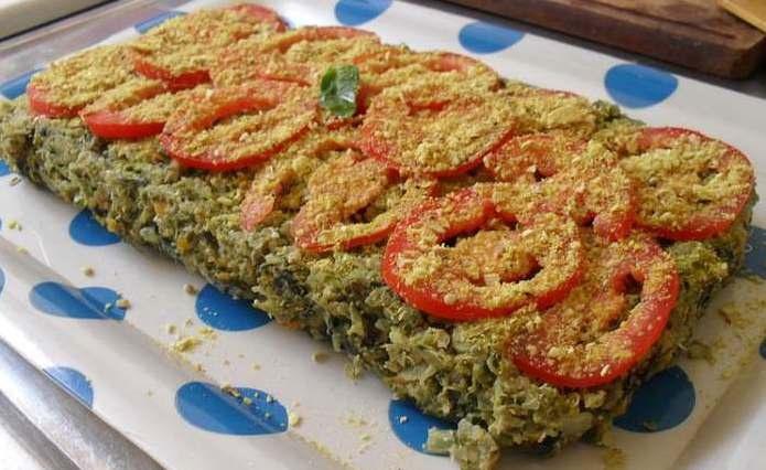 Ornela, Recetas vegetarianas naturistas: Pastel de quinoa y espinaca